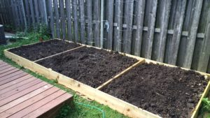 Tales from the Dad Side - Raised Bed Garden