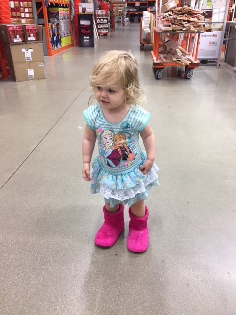 Tales from the Dad Side - hardware store